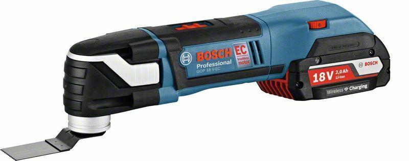 Aku multifunkční nářadí Bosch GOP 18 V-EC Professional, 06018B0000