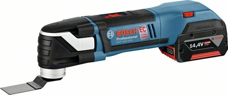 Aku multifunkční nářadí Bosch GOP 14,4 V-EC Professional - bez baterie, 06018B0100