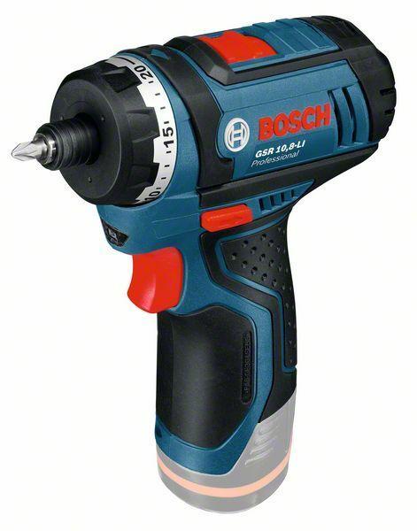 Aku vrtací šroubovák Bosch GSR 10,8-LI Professional - bez baterie, 0601992901