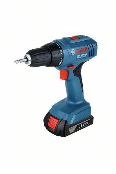 Aku vrtací šroubovák Bosch GSR 1800-LI Professional, 06019A8305
