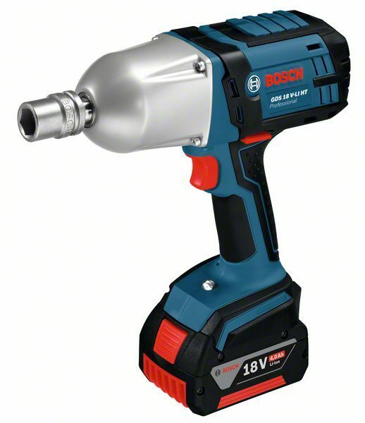 Aku rázový utahovák Bosch GDS 18 V-LI HT Professional, 06019B1303