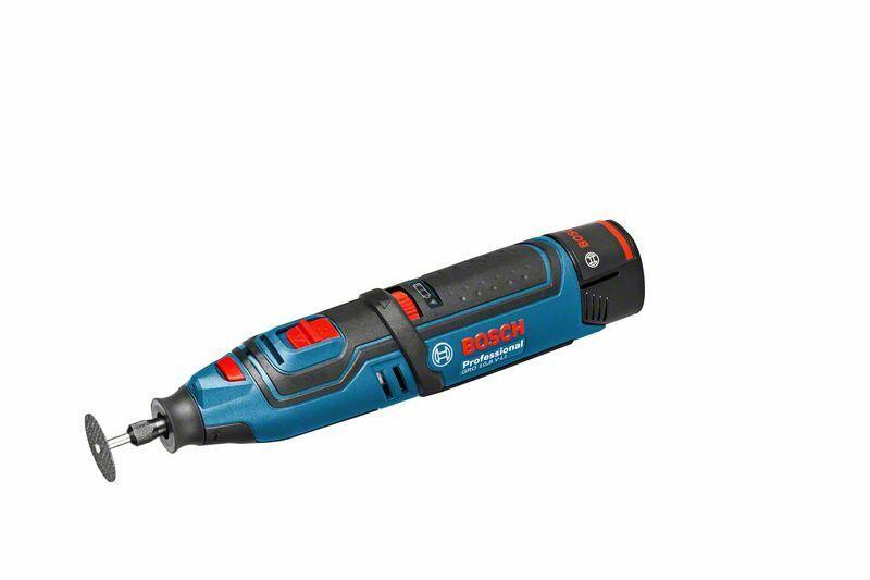 Multifunkční rotační nářadí Bosch GRO 10,8 V-LI, akumulátor + nabíječka, 06019C5001