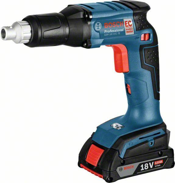 Aku sádrokartonářský šroubovák Bosch GSR 18 V-EC T Professional, 06019C8002