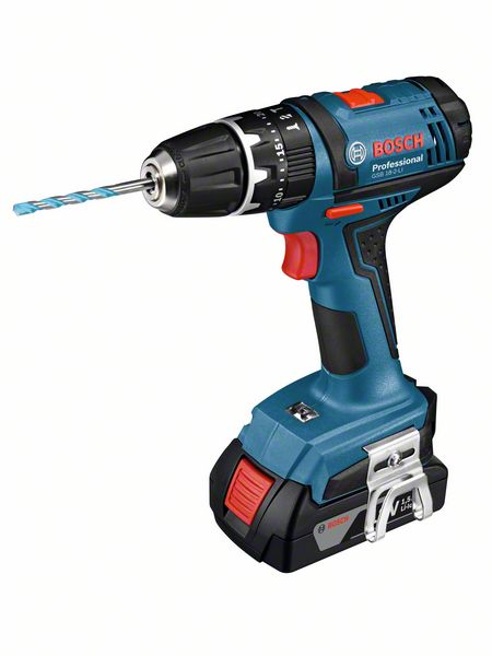 Aku šroubovák Bosch GSB 18-2-LI (2x1,5 Ah) Professional, 06019D2301