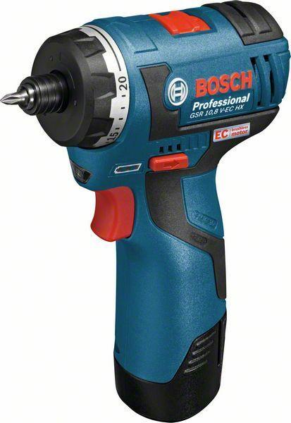 Aku vrtací šroubovák Bosch GSR 10,8 V-EC HX Professional -bez baterie, 06019D4102