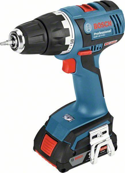 Aku vrtací šroubovák Bosch GSR 18 V-EC Professional, 06019D6102