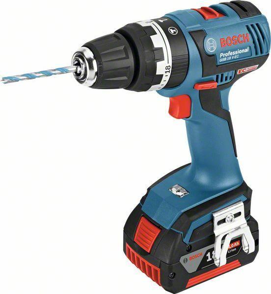 Aku kombinovaný šroubovák Bosch GSB 18 V-EC Professional, 06019D7102
