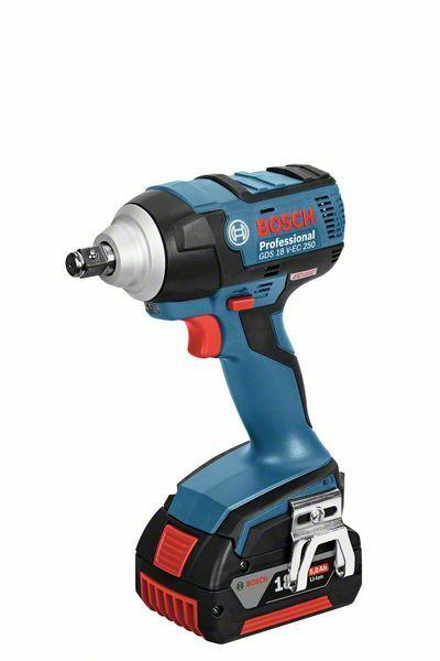 Aku rázový utahovák Bosch GDS 18 V-EC 250 Professional - bez baterie, 06019D8102