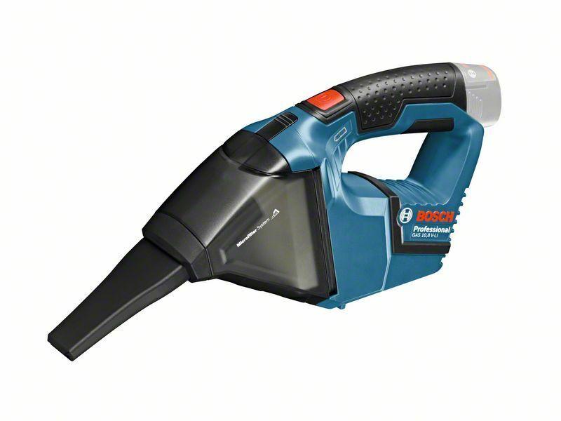 Aku vysavač Bosch GAS 10,8 V-LI Professional - bez baterie, 06019E3000