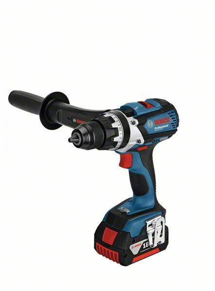 Aku vrtací šroubovák 18V 2x5,0Ah Bosch GSR 18 VE-EC Professional, BOSCH, 06019F1102
