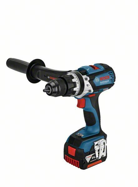Aku kombinovaný šroubovák Bosch GSB 14,4 VE-EC Professional, 2x 4,0 Ah; L-Boxx, 06019F1201
