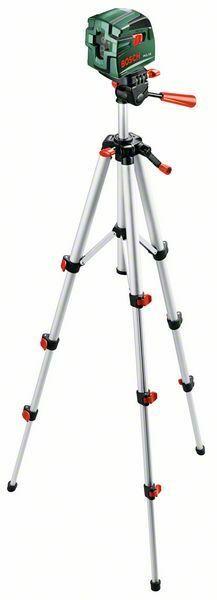 Samonivelační křížový laser Bosch PCL 10 Set, stativ, 0603008121