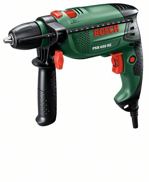Příklepová vrtačka Bosch PSB 650 RE, 0603128020