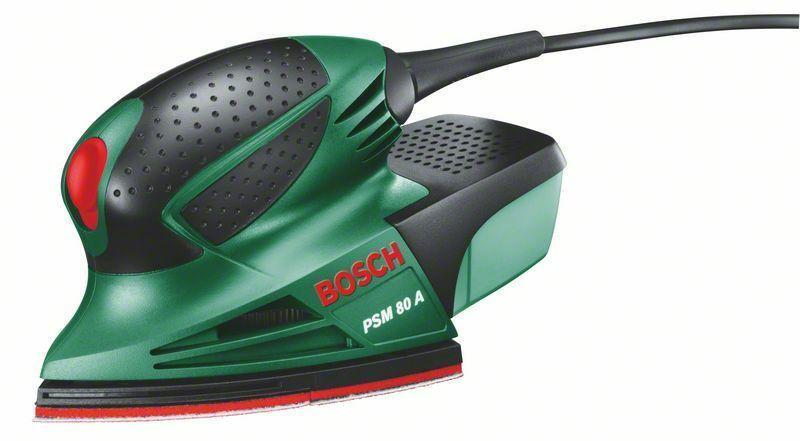 Multibruska Bosch PSM 80 A + plastový kufr, 0603354020