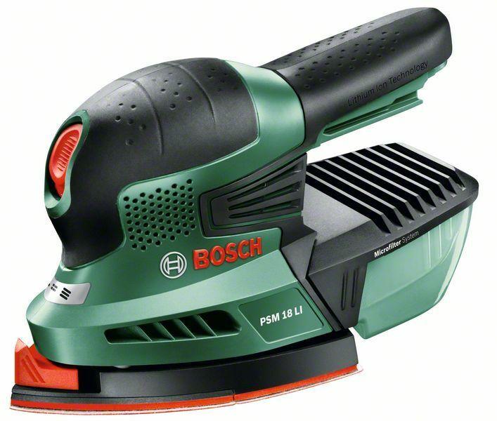 Aku multibruska Bosch PSM 18 LI (bez akumulátoru a nabíječky), 06033A1321