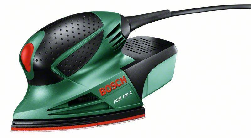 Multibruska Bosch PSM 100 A + plastový kufr, 06033B7020