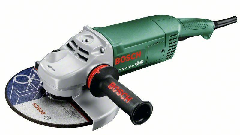 Úhlová bruska Bosch PWS 2000-230 JE, 2000W, 230mm, 06033C6001
