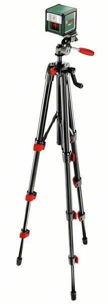 Samonivelační křížový laser Bosch Quigo Plus, stativ, 0603663600