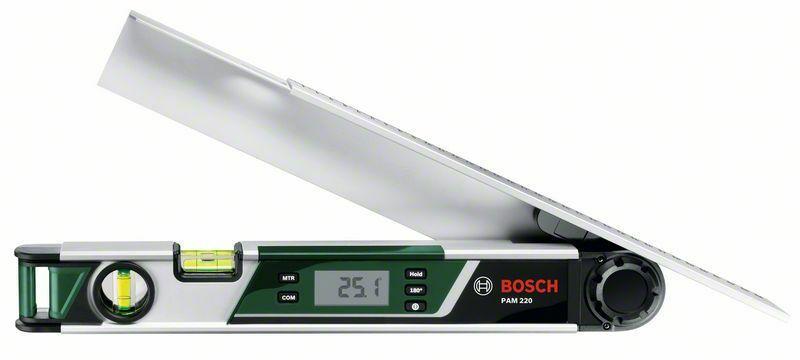 Úhloměr Bosch PAM 220 + ochranné pouzdro, 0603676020