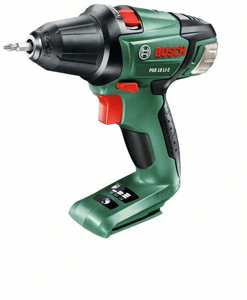 Aku vrtací šroubovák Bosch PSR 18 LI-2, bez baterie, 0603973322