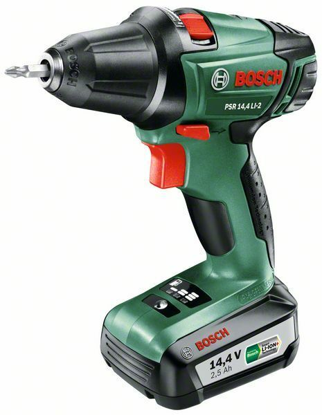 Aku vrtací šroubovák Bosch PSR 14,4 LI-2 (1x aku - 2,5Ah), 060397340N