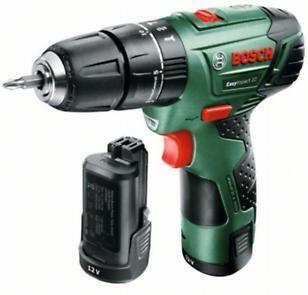 Aku kombinovaný šroubovák EasyImpact 12 Bosch (2x baterie 2,5 Ah, nabíječka), 060398390E