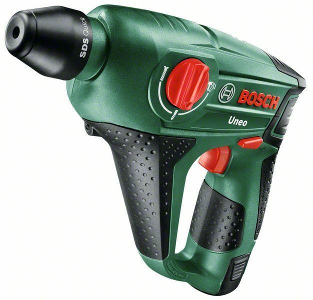 Aku kladivo Bosch 3v1 Uneo 10,8 Li-2 (1x AKU - 2,0Ah), 0603984024