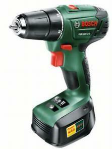 Aku vrtací šroubovák PSR 1800 LI-2 Bosch (baterie, nabíječka), 06039A3120