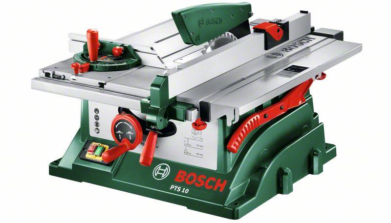 Stolní okružní pila, 1400W, Bosch  PTS 10 , 0603B03400