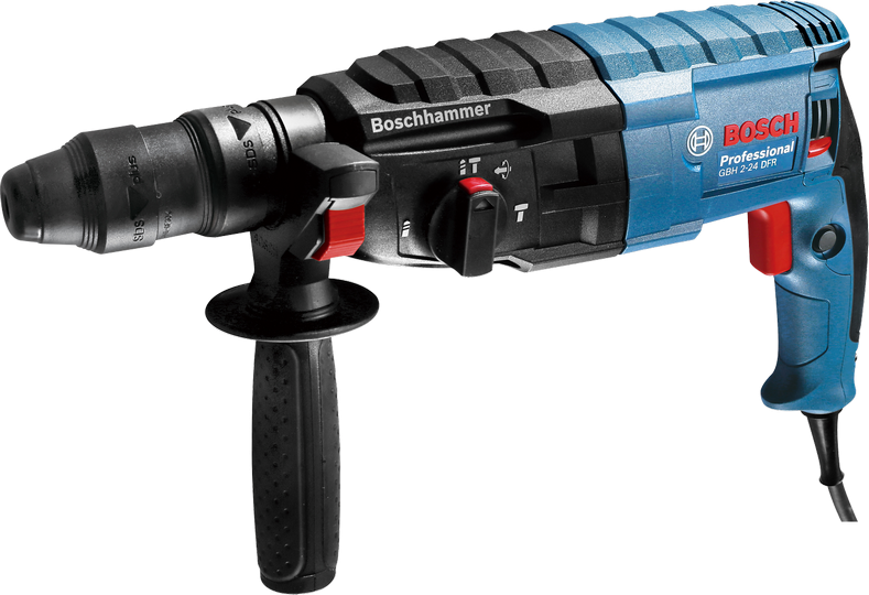 Vrtací kladivo Bosch GBH 2-24 DFR Professional, (SDS-Plus; 790 W; 2,7 J, kufr), 0611273000