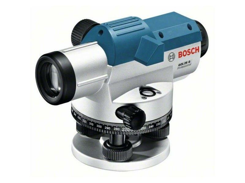 Optický nivelační přístroj Bosch GOL 26 G + měřicí lať, stativ Professional, 061599400C
