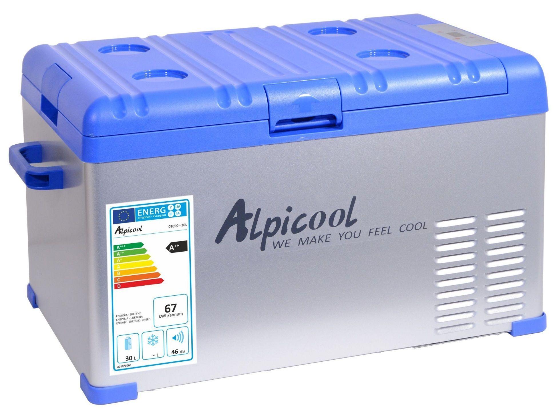 Chladící box kompresor 30l 230/24/12V -20°C BLUE COMPASS