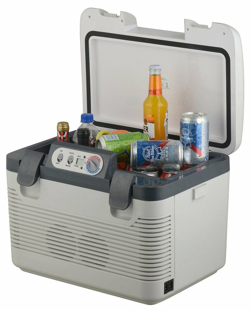 Chladící box 19l + display 220V/24V/12V DOUBLE COMPASS