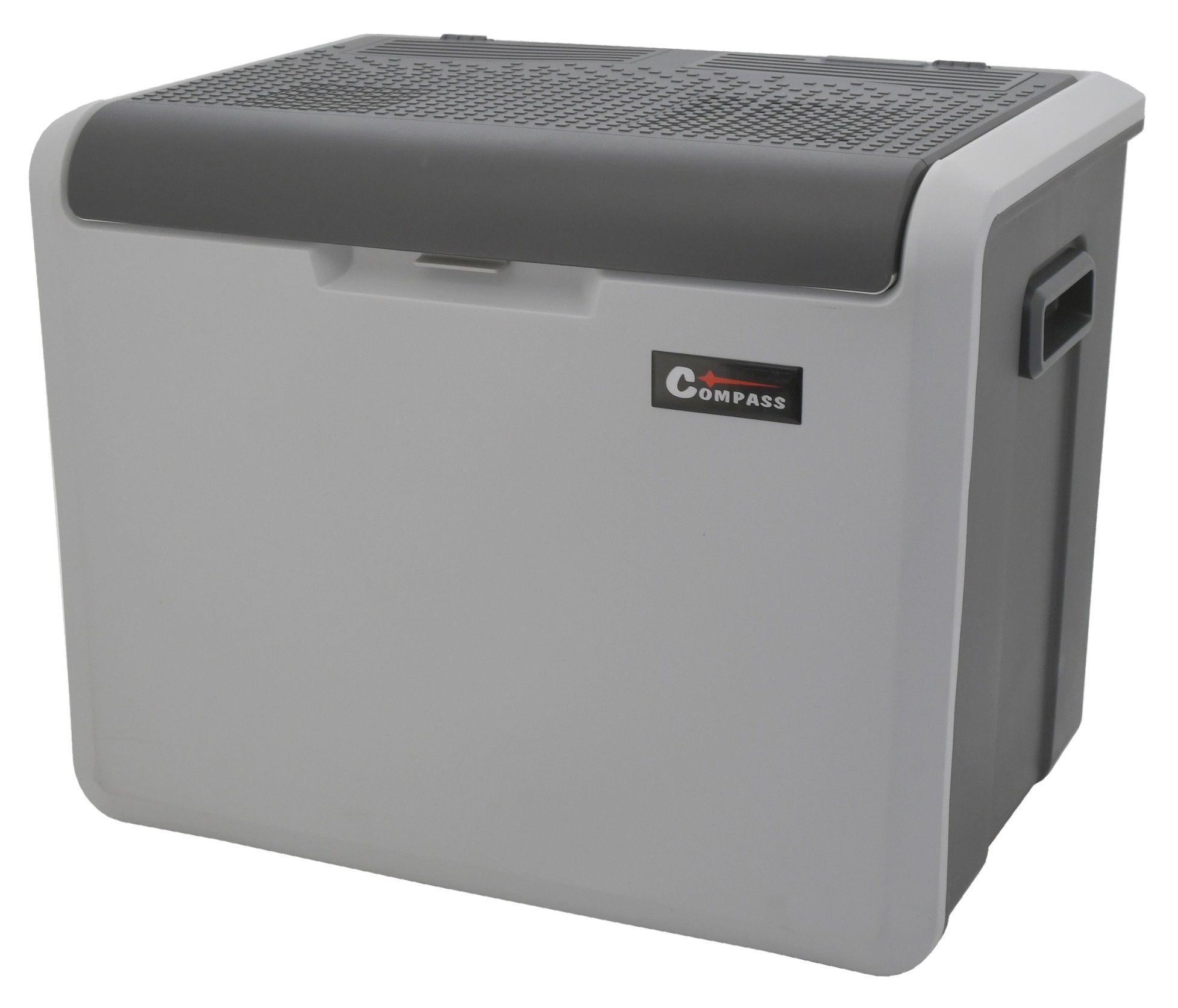 Chladící box 40litrů TAMPERE 230/12V pojízdný COMPASS