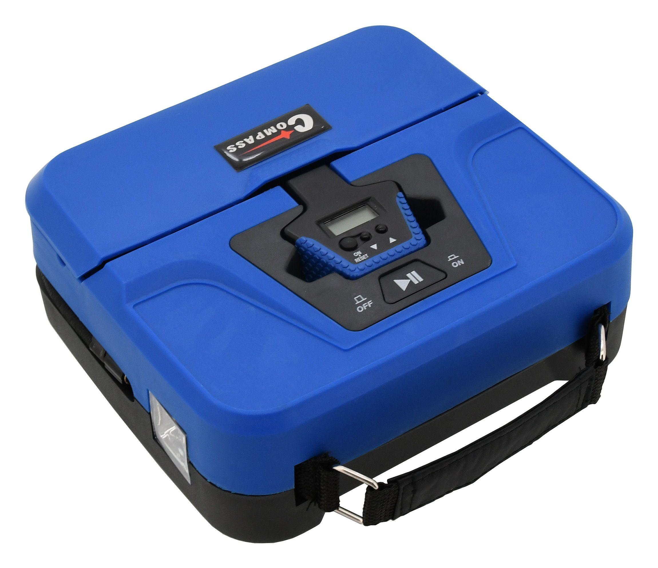 Kompresor 12V BOX digitální 3in1, COMPASS