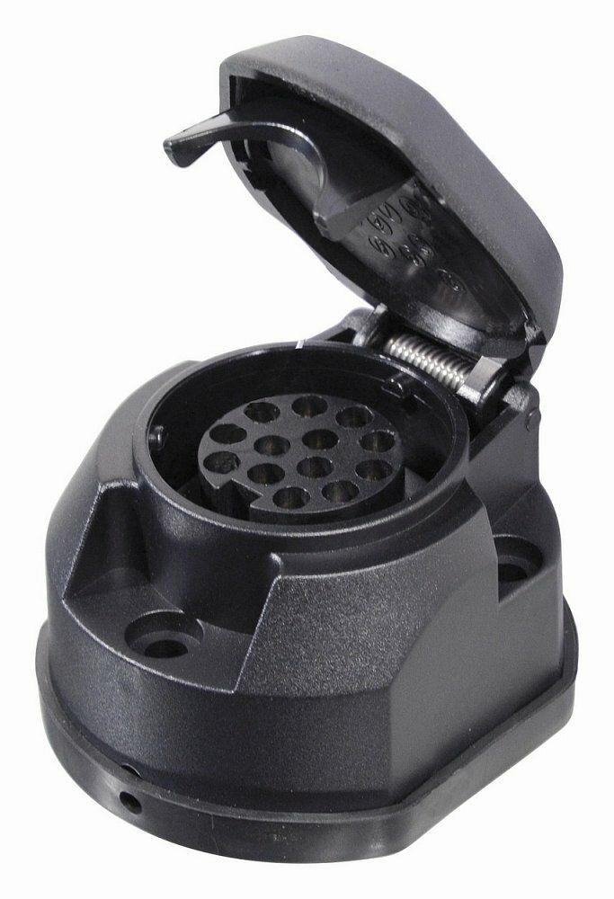 Zásuvka tažného zařízení 13 pólů s těsněním, COMPASS