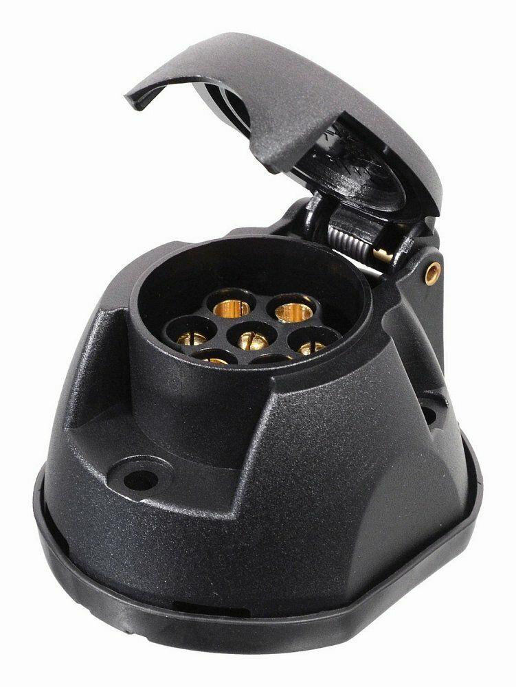 Zásuvka tažného zařízení 7 pólů s těsněním, COMPASS