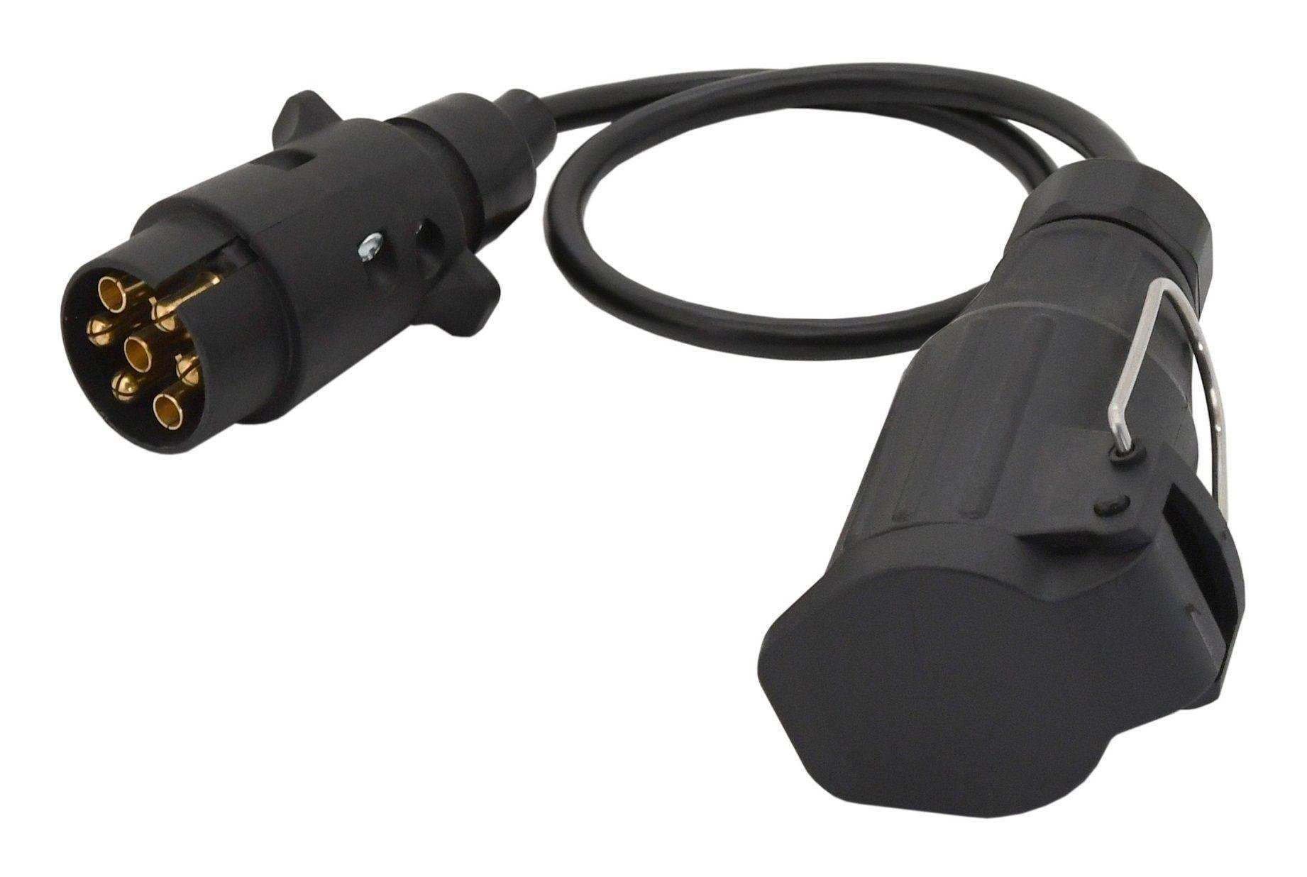 Kabel redukční 0,6m 7pólů zástrčka - 13pólů zásuvka COMPASS