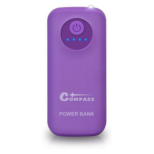 POWER BANK 5200mAh  30cm kabel, COMPASS
