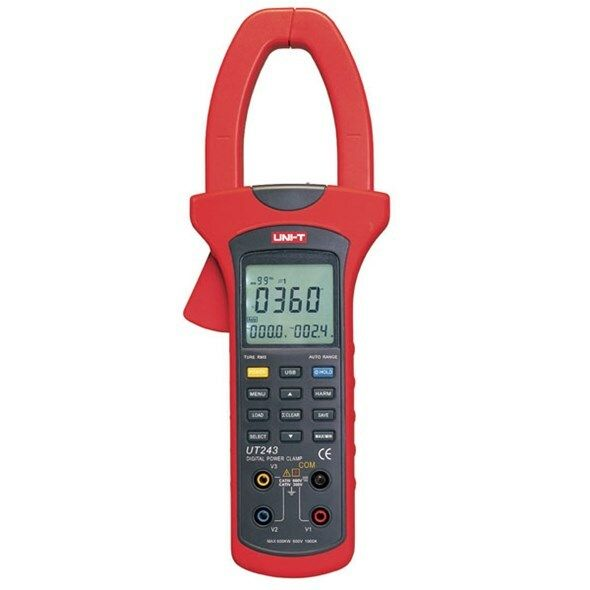 Multimetr UNI-T UT243 klešťový wattmetr