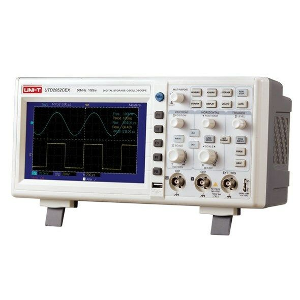 Osciloskop UNI-T UTD2052CEX ( 50MHz)