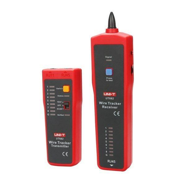 Tester kabelu UNI-T UT682  (RJ45)