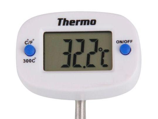 Teploměr digitální vpichovací 50-300°C s otočnou hlavou UNI-T