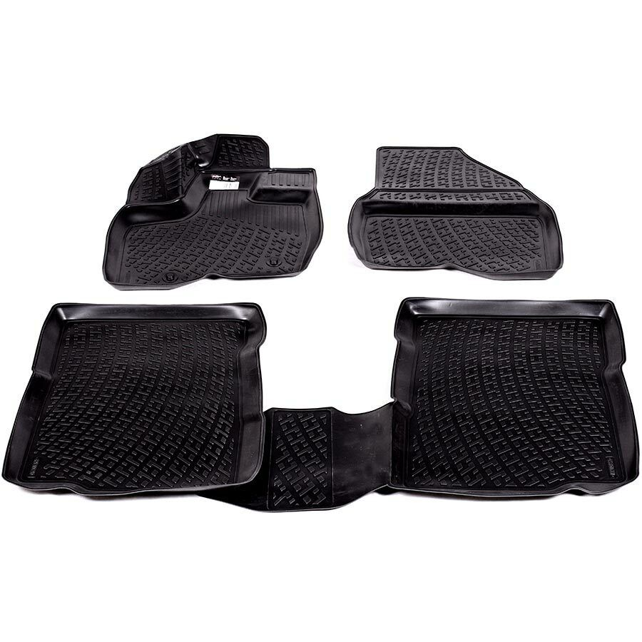 Gumové koberce Mazda CX-9 (TB) (3 řady sedadel) (06-) (2D) SIXTOL