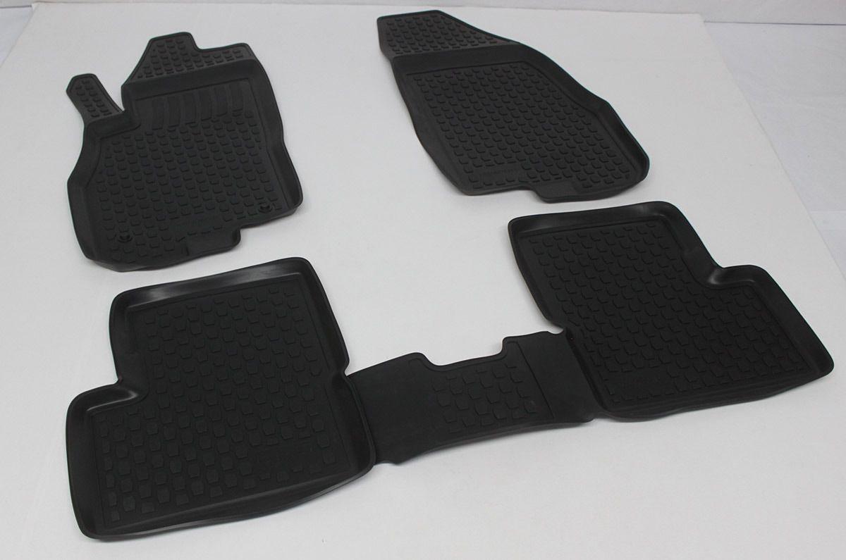 Gumové koberce Fiat Grande Punto (Type 199) (05-12)  (2D) SIXTOL
