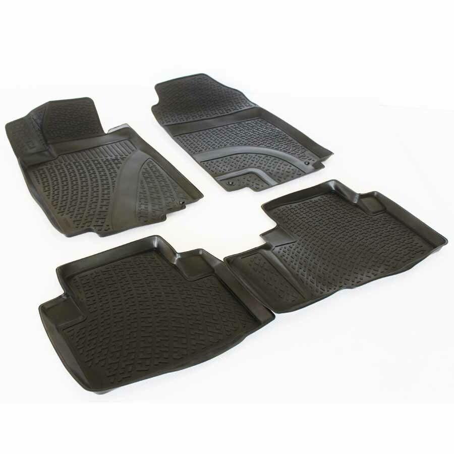 Gumové koberce Honda CR-V IV (RM1/RM3/RM4) (11-) (3D) SIXTOL