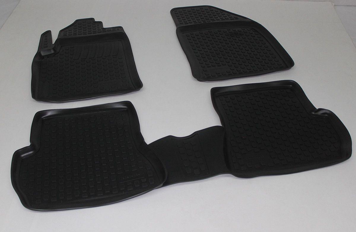 Gumové koberce Ford Fiesta V (JH/JD) (02-09)  (2D) SIXTOL