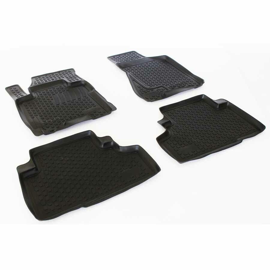 Gumové koberce Kia Sportage II New (JE/KM) (04-10)  (2D) SIXTOL
