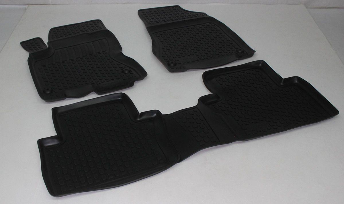 Gumové koberce Renault Koleos (VY) (07-)  (2D) SIXTOL