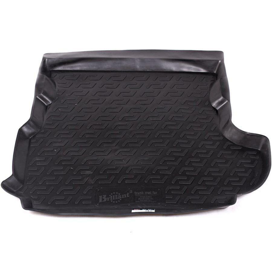 Vana do kufru gumová Mitsubishi Outlander II XL (CW) (subwoofer v kufru) (06-13) SIXTOL